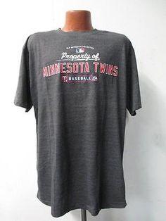 Minnesota Twins Big Mens Majestic 5XL Tall Short Sleeve Screened T-Shirt KK 1568