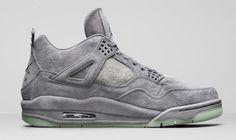 more photos c470e e05c5 Air Jordan 4 KAWS Size Run  Mens Color Cool Grey White Style Code