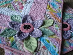 My mission this year to use up as many scraps as I can continues with this baby quilt.   I used scraps from previous baby quilts to make the...