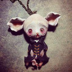 Nosferatu souris by NobuHappySpooky on Etsy