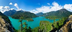 Diablo Lake, North Cascades National Park, WA