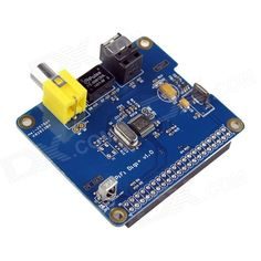Specific HIFI DiGi+ Digital Sound Card I2S SPDIF Optical Fiber for Raspberry Pi A+&B+ - Blue. This is a expansion board designed for Raspberry pi A + B + designed Specific HIFI DiGi+, adopt Wolfson company high-end digital chip, using the 12S interface, support 16 to 24 audio data formats and the advanced shake reduction technology could control the Intribsic period jitter in 50ps RMS; Reductive degree is high, supporting hardware method of controlling volume, and the user can cooperate…