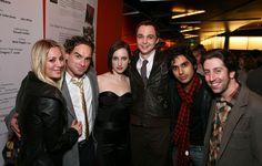 "El Equipo de ""The Big Bang Theory"""