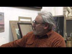 Как научиться рисовать, пастель, Вечерний парк - YouTube