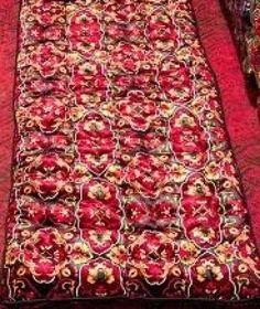 handmade quilts from Uzbekistan on Handicraft, Bohemian Rug, Bedding, Internet, Velvet, Quilts, Wool, Handmade, Free