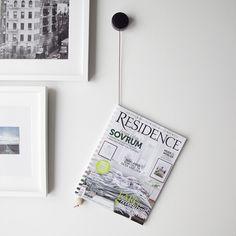 DIY: Wooden Beaded Magazine Holder   -Design*Sponge