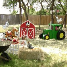 Unique Farm Birthday Party Ideas - Ideas For A Farm Themed Birthday Party | Bash Corner