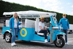 Rent4Adventure - Travel around Paris in a fun and eco-friendly way! These 100% electric Tuktuks will take you on a tour of Paris and its monuments. Available in the US through eTuk USA