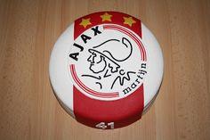 Karin's Taarten: Ajax-taart (met 3 sterren!)