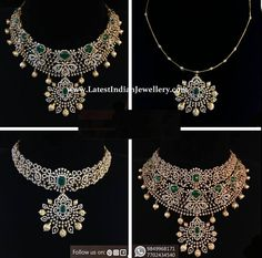 Multipurpose Diamond Choker 4 in 1 multipurpose diamond bridal necklace which can be used as 3 different diamond necklace look and comes with a detachable pendant Diamond Earrings Indian, Diamond Necklace Set, Diamond Choker, Diamond Pendant, Diamond Jewelry, Gold Jewellery, Diamond Jewellery Designs, Diamond Heart, Diamond Mangalsutra