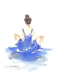 Dancer in Watercolor