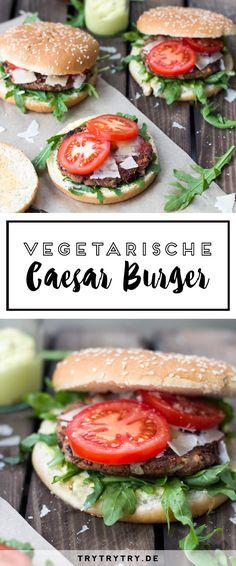 Vegetarian Caesar burger with kidney bean patties. A delicious vegetarian recipe! Vegetarian Caesar burger with kidney bean patties. A delicious vegetarian recipe! Burger Recipes, Salmon Recipes, Diet Recipes, Vegetarian Recipes, Healthy Recipes, Empanadas, Salmon Patties Recipe, Bean Cakes, Frijoles