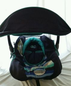 Safety 1st Carters Lightn Comfy Luxe Blue Infant Car Seat Cover CanopyA86 Safety1st