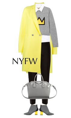 """""""NYFW"""" by ecem1 ❤ liked on Polyvore featuring Harris Wharf London, Kim Kwang, Jaeger, Alice + Olivia and Givenchy"""