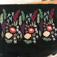 #樋口愉美子の刺繍時間 #花園 まさに花園 可愛い図案ですね