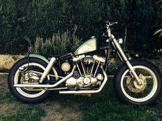 Harley-Davidson : Sportster 1977 Harley Davidson Ironhead Sportster Bobber