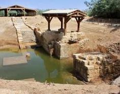 This area on the Jordan River is widely believed to be where Jesus was baptized, but both Jordan and... - Al-Maghtas