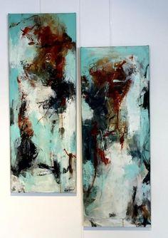 Name: United Artist: Anette Riisgaard Gallery: Kunstsamlingen Height: 80 cm Width: 30 cm Price: 4000 kr. (537 euro) #kunstsamlingen #kunst #artcollection #art #painting #maleri #galleri #gallery #onlinegallery #onlinegalleri #kunstner #artist #danishartists #anetteriisgaard