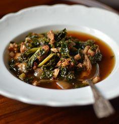 Bacon, Kale & Turkey Stew