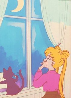 Image about sailor moon in 🌙SM🌙 by カレン on We Heart It Sailor Moon Luna, Sailor Moons, Sailor Uranus, Sailor Moon Background, Sailor Moon Wallpaper, Mars Wallpaper, Sailor Moon Aesthetic, Aesthetic Anime, Retro Aesthetic