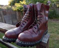 Leather Ankle Boots, Combat Boots, Skinhead Boots, Custom Motorcycles, Super Powers, Edc, Twitter, How To Wear, Free
