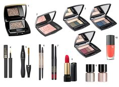 Produtos da nova Lancôme Holiday Color Collection!