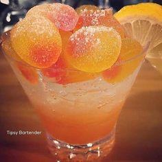 Tipsy Bartender — ▃▃▃▃▃▃▃▃▃▃▃▃▃▃▃▃▃▃▃▃ PEACH SOUR SPRITZER 1 oz....