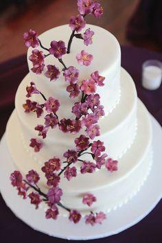 Featured Photographer: Sweet Monday Photography; Wedding cake idea.