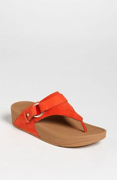 """Love this orange FitFlop sandal...I don't have this one yet....and the accent is on """"yet""""...."""