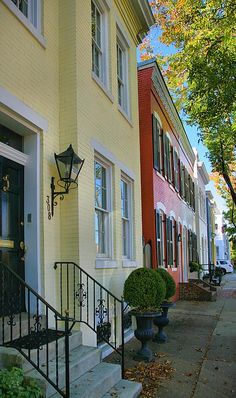 Old Town Alexandria, Virginia. Me and the hubby really enjoyed this small town...we'll have to go back!
