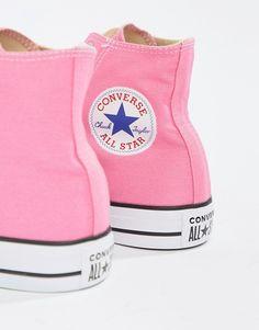 cabc48a3da02 Converse Chuck Hi Taylor Sneakers In Pink