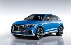 As part of the auto show in Detroit, the German company Audi has officially unveiled a conceptual prototype of a new flagship SUV Co Audi Q8 Price, Crossover, Detroit, Sport Suv, Automobile, High End Cars, Audi Rs, Audi 2017, Suv Cars