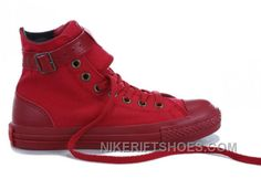 http://www.nikeriftshoes.com/monochrome-red-converse-high-tops-buckles-canvas-shoes-authentic-qwwtc.html MONOCHROME RED CONVERSE HIGH S BUCKLES CANVAS SHOES TOP DEALS ZB7NR Only $59.00 , Free Shipping!