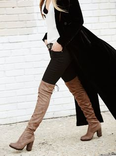 Free People North Star Over the Knee Boot at Free People Clothing Boutique