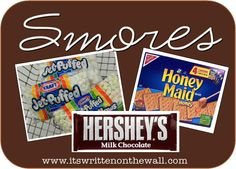 Lots of Smores recipes   www.itswrittenonthewall.com