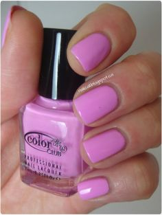 Nail Call: Color Club Girl About Town Mini Swatches