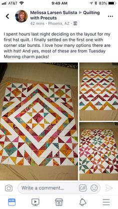 Short-cuts for making and squaring-up multiple Half Square Triangle Quilt Blocks at once. Batik Quilts, Scrappy Quilts, Easy Quilts, Bargello Quilts, Quilting Tutorials, Quilting Projects, Quilting Designs, Triangle Quilt Tutorials, Quilting Ideas