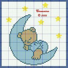 bebé ponto de cruz- ♥vanuska♥
