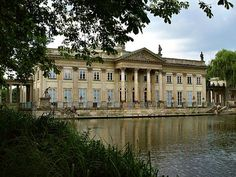 Warsaw, Łazienkowski Palace 1788, J. Ch. Kamsetzer