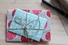 kuvert, diy kuvert, origami, fold en kuvert