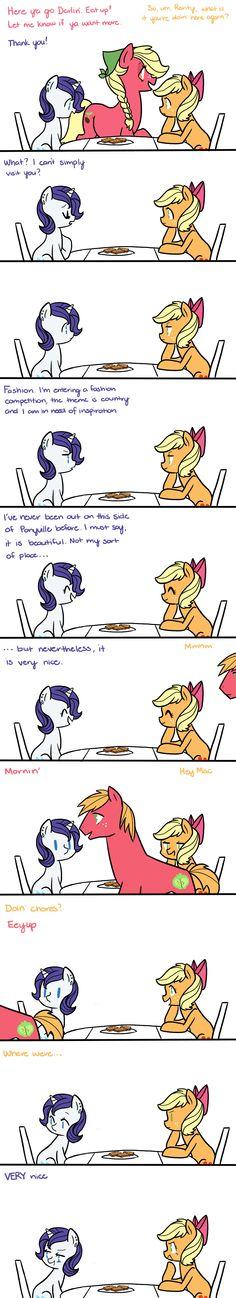 My Teenage Pony: Very Nice by kilala97.deviantart.com on @deviantART