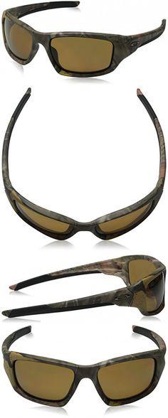 23b32dc621a Oakley Men s Valve OO9236-25 Polarized Rectangular Sunglasses