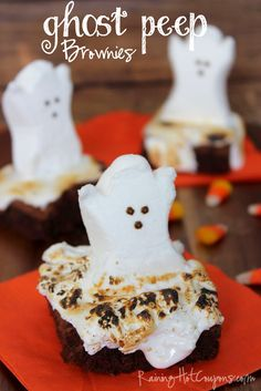 Halloween recipe *Get more RECIPES from Raining Hot Coupons here* *Pin it* by clicking the PIN button on the image above! Repin It Here Trying to think of a new Halloween recipe? Well, you've come to the right place! These brownies are super tasty and sweet but not too sweet. I love using the ghost …