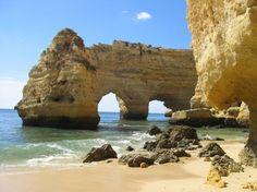Praia da Marinha, Algarve - my favorite beach {Photo: Fernanda, Via: Olhares.pt}