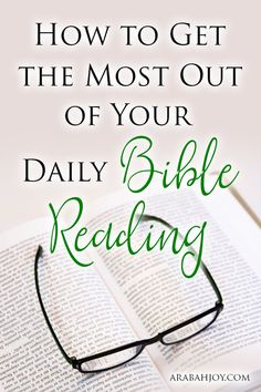 Are you looking to get more from your Bible reading? Here are 10 important questions to ask to get more out of Bible study.