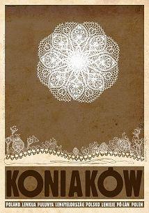 Ryszard Kaja - Koniaków, polski plakat turystyczny