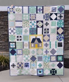 Summer House Quilt - Finished! Pattern in the Westwood Acres Shop