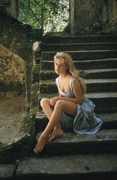 Beautiful Brigitte Bardot photographed by Mark Shaw, 1956