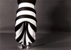 """Kuma guna"", 1996, foam costumes for dance by Maria Blaisse"