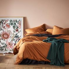 Home Republic - Bamboo Linen Quilt Cover
